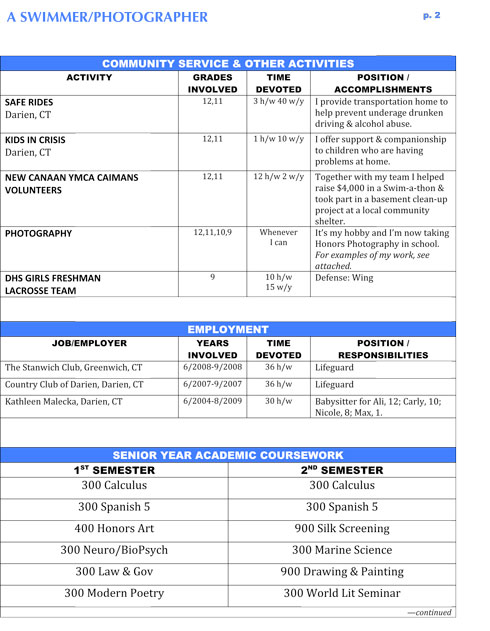 resume examples for high school students. Resume example for functional